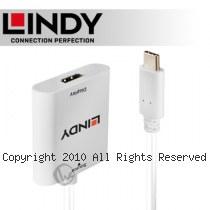 LINDY 林帝 主動式 USB3.1 Type-C to HDMI2.0 4K/60Hz HDR 轉接器 (43276)