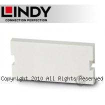 LINDY 林帝 空白模組/模塊面板, 白色 (60540)
