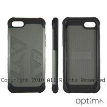 Optima iPhone7/8 雙料耐衝擊保護殼 大地灰