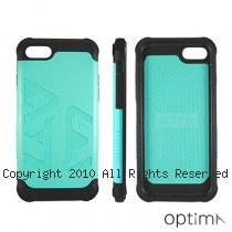 Optima iPhone7 雙料耐衝擊保護殼 藍綠