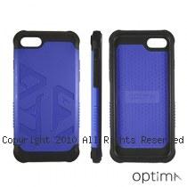 Optima iPhone7/8 雙料耐衝擊保護殼 靛藍