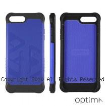 Optima iPhone7/8 Plus 雙料耐衝擊保護殼 靛藍