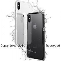透明殼專家iPhone X 蜂巢抗震邊框 玻璃背蓋防摔殼 [黑色]