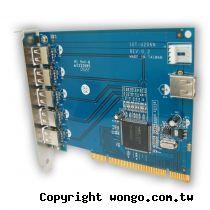 SPARTA 5+1埠USB2.0 PCI介面 擴充卡【NEC晶片】