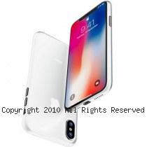 透明殼專家 iPhone X 極薄 0.35mm 全包覆保護殼 [霧白]