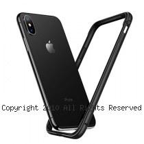 透明殼專家iPhone X 金屬邊框+抗刮背版 保護殼 [黑色]