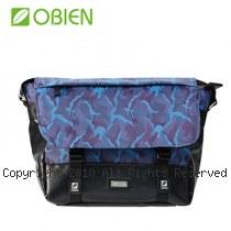 Obien 歐品漾 都會型 萬用迷彩 小郵差包 【迷彩藍】