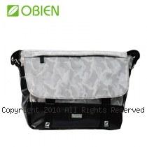 Obien 歐品漾 都會型 萬用迷彩 小郵差包 【迷彩灰】