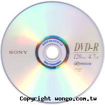 SONY 新力 16X DVD-R 300片/箱