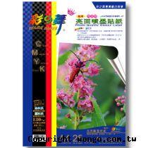 彩之舞 防水 專業級 亮面 A4 高畫質 噴墨貼紙【HY-B45】25張