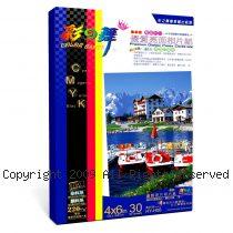 彩之舞【HY-H06】4x6 inch 防水 雙面(亮+霧面)可印 優質相片紙 30張