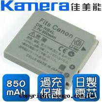 Kamera 佳美能 Canon NB-4L 數位相機 鋰電池