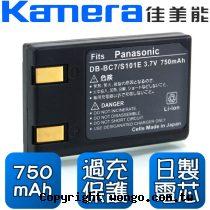 Kamera 佳美能 Panasonic CGA-S101 數位相機 鋰電池