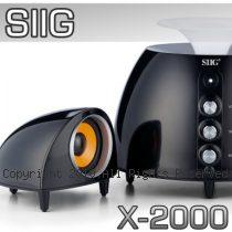 SIIG X-2000 圓弧鏡面設計 2.1聲道 多媒體喇叭