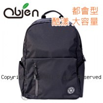 Obien 歐品漾 都會型 酷漾大容量 後背包 【黑】