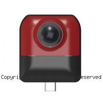 Cube720 雙魚眼 android專用 VR全景攝影機【紅】