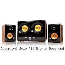 JS 淇譽 JY3241 震天雷 雙低音 全木質 多媒體喇叭