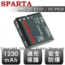 SPARTA BenQ DC-E520 / DC-P500 數位相機 鋰電池