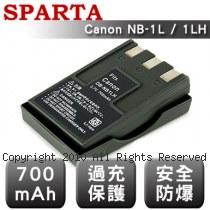 SPARTA Canon NB-1L / 1LH 數位相機 鋰電池