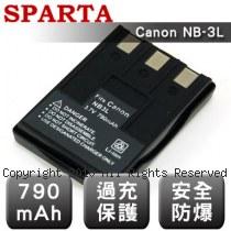 SPARTA Canon NB-3L 數位相機 鋰電池