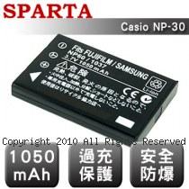 SPARTA Casio NP-30 數位相機 鋰電池
