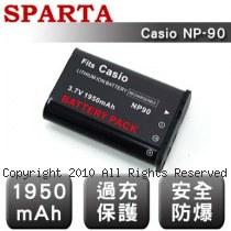 SPARTA Casio NP-90 數位相機 鋰電池