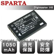 SPARTA Digimaster V6 數位相機 鋰電池