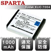 SPARTA Kodak KLIC-7004 數位相機 鋰電池