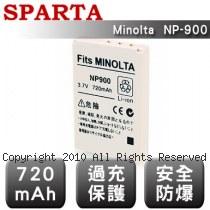 SPARTA Konica Minolta NP-900 安全防爆 高容量鋰電池