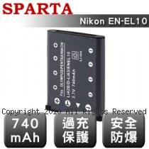 SPARTA Nikon EN-EL10 數位相機 鋰電池