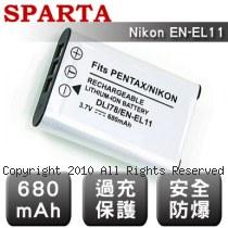 SPARTA Nikon EN-EL11 安全防爆 高容量鋰電池