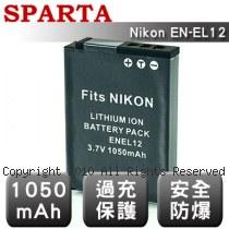 SPARTA Nikon EN-EL12  安全防爆 高容量鋰電池