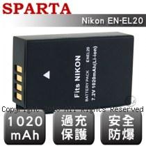 SPARTA Nikon EN-EL20 安全防爆 高容量鋰電池