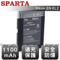 SPARTA Nikon EN-EL2 安全防爆 高容量鋰電池