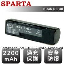 SPARTA Ricoh DB-30 數位相機 鋰電池
