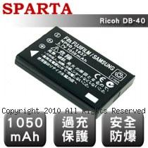 SPARTA Ricoh DB-40 數位相機 鋰電池