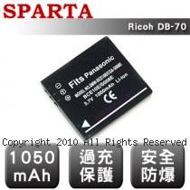 SPARTA Ricoh DB-70 數位相機 鋰電池