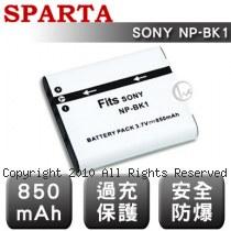 SPARTA SONY NP-BK1 數位相機 鋰電池