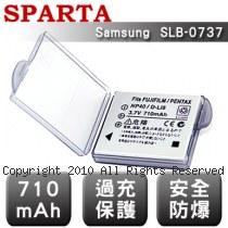 SPARTA Samsung SLB-0737 數位相機 鋰電池