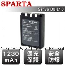 SPARTA Sanyo DB-L10 數位相機 鋰電池