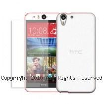 透明殼專家超值組 HTC Desire Eye 超薄 抗刮保護殼+2.5D 9H鋼化玻璃防爆貼