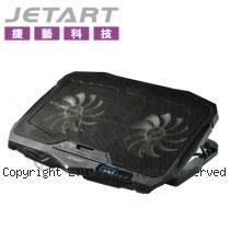 JetArt 捷藝 CoolStand 7+ 人體工學 筆電散熱器 NPA220