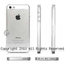 透明殼專家 iPhone5/5S 0.5mm 超薄 抗刮 高透光保護殼