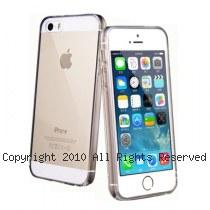 透明殼專家 iPhone5S/5 全包式 高透光 防塵抗摔 矽膠軟質 保護殼