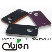 obien 台灣製 雙色調 金屬光澤塗裝 iPhone4 硬殼 保護背蓋