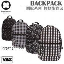VAX Bolsarium 柏沙利 Back Pack 圖紋系列 防潑水防塵 輕捷後背包
