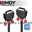 LINDY 林帝 BLACK DVI-D 雙鍊結 公 to 公 傳輸線 1m (36251)