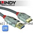 LINDY 林帝 CROMO系列 USB3.0 Type-A/公 to Micro-B/公 傳輸線 2m (36658)