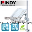LINDY 林帝 台灣製 筆電/平板 長懸臂式支架+70cm開孔式支桿 組合 (40963+40699)