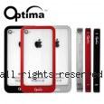 Optima 航太鋁合金 iPhone4/4S 背扣式 金屬保護框